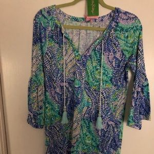 Lilly Pulitzer 3/4 sleeve dress XS NWT